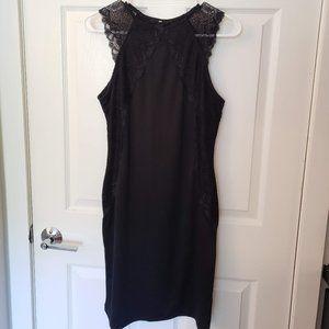 H&M Black Sleeveless Sheath Dress